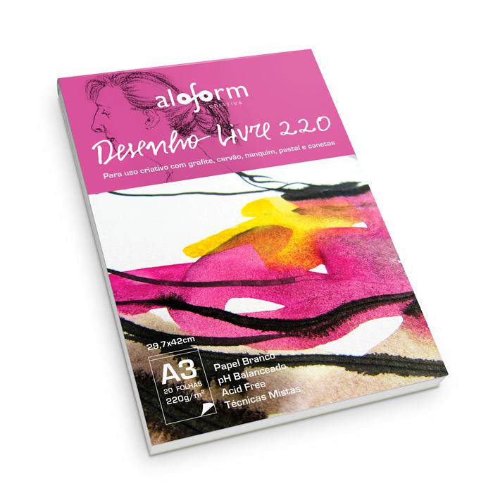 Bloco desenho livre 220 - Aloform